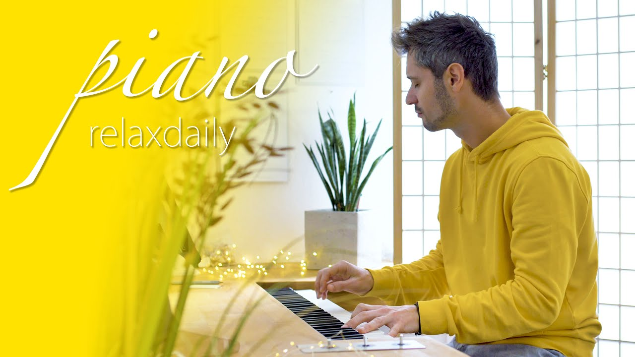 Light piano music for studying