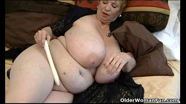 Fat old women with big tits