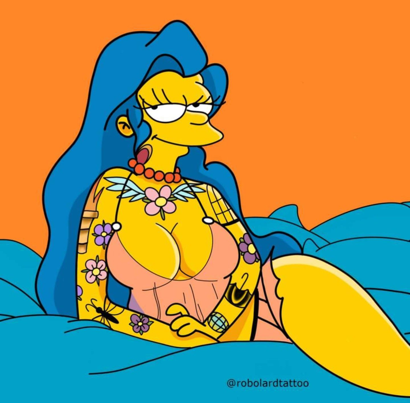 Simpsons sexy spinning